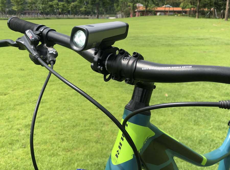 Sate-lite USB rechargeable bike light/ bicycle headlight LF-08