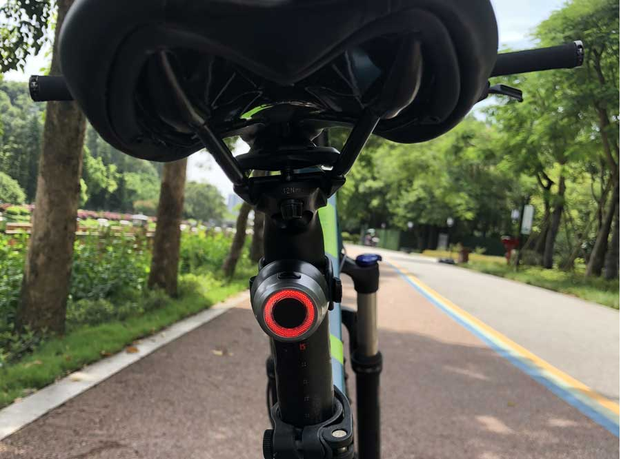 Sate-Lite USB rechargeable bike light with CE/FCC approved