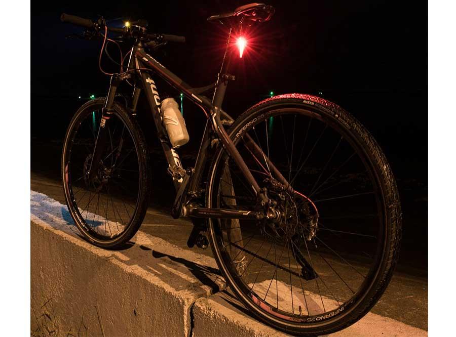Sate-Lite bike rear light with Germany StVZO standard LR-01
