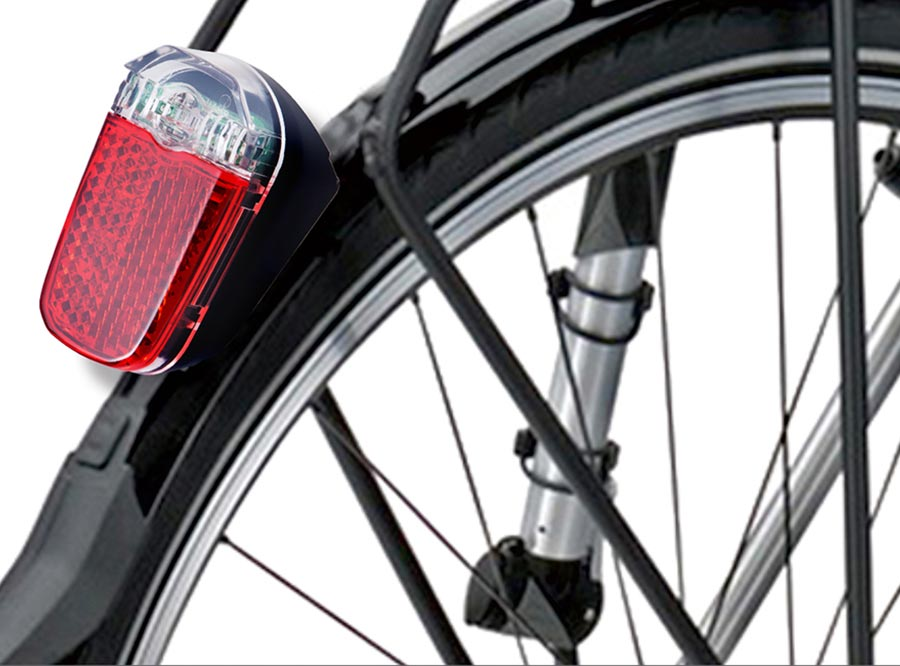 Sate-Lite Germany StVZO approved ebike/ escooter/ hub dynamo scooter taillight M4