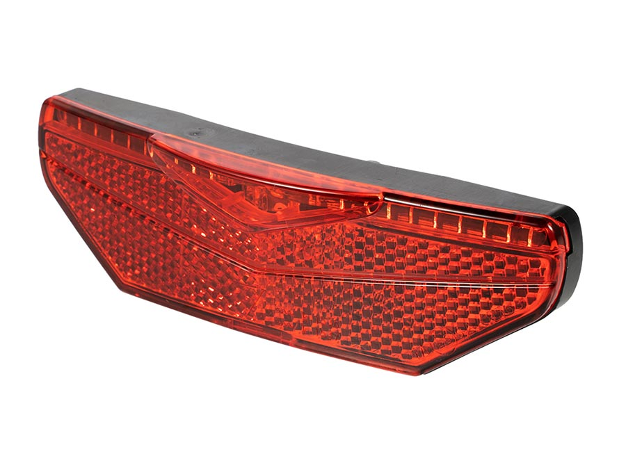 Sate-Lite rear light with StVZO Approved rear light, 6V-48V taillight for escooter, hub dynamo and ebike