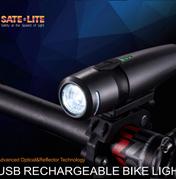 USB Rechargeable Bike Light