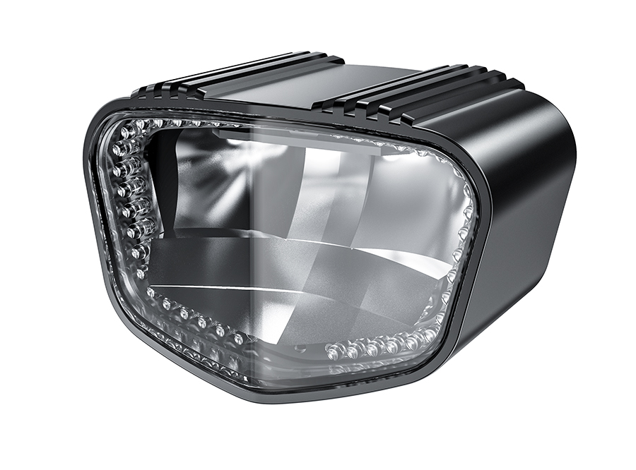 2019 sate-lite ECE R113 approved 1900 lumens super-bright headlight IPX6 waterproof 40 LEDs automotive daytime running light